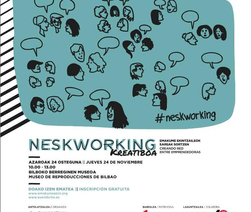 Neskworking Kreatiboa para mujeres emprendedoras