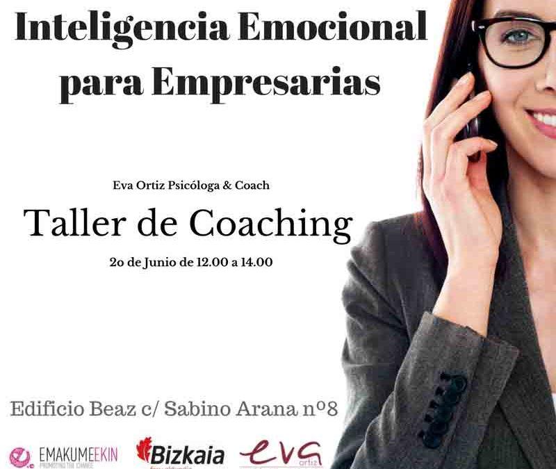 «Inteligencia emocional», taller impartido por Eva Ortiz