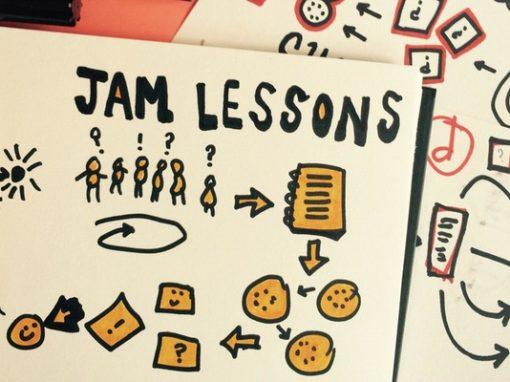 Jam Lessons! Metodologías para formar.