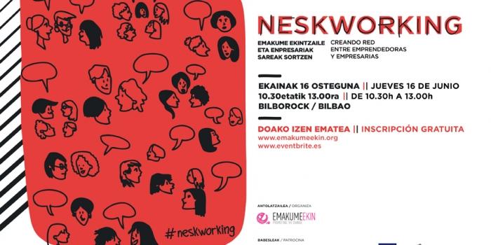Neskworking: creando red entre emprendedoras y empresarias